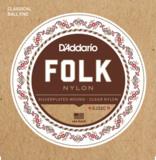 D'Addario ダダリオ / EJ32C Folk Nylon Ball End クラシックギター弦 商品画像