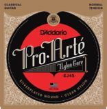 D'Addario / Classic Guitar Pro-Arte Laser Selected Nylon Trebles EJ45 Normal Tension 28-43 クラシックギター弦 商品画像