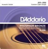 D'Addario / Phosphor Bronze EJ26 Custom Light 11-52 アコギ弦 商品画像