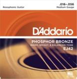 D'Addario / EJ42 Phosphor Bronze Resophonic Guitar 16-56 アコースティックギター弦 【お取寄せ商品】 商品画像
