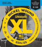 D'Addario / ESXL125 Super Light Top・Regular Bottom Double Ball End エレキギター弦 商品画像