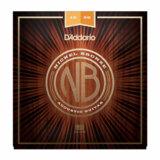 D'Addario / Nickel Bronze NB1256 Light Top / Med Bottom 12-56 アコギ弦 【お取寄せ商品】 商品画像