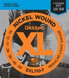 D'Addario / EXL110-7 Regular Light 10-59 7-Strings エレキギター弦 商品画像