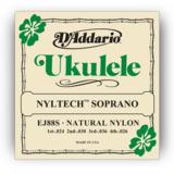 D'Addario / Nyltech Soprano Natural Nylon EJ88S 24-36 【お取寄せ商品】 商品画像