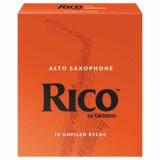 DAddario Woodwinds / RICO アルトサックス用リード オレンジ箱 10枚入 リコ ダダリオ 3 [LRIC10AS3]【お取り寄せ商品】 商品画像