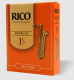 DAddario Woodwinds / RICO バリトンサックス用リード オレンジ箱 10枚入 リコ ダダリオ 3 [LRIC10BS3]【お取り寄せ商品】 商品画像