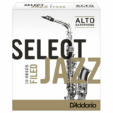 DAddario Woodwinds / RICO JAZZ SELECT FIELD アルトサックス用リード ファイルド・カット(フレンチ・カット) 10枚入 ジャズセレクト ダダリオ 2H [LRICJZSAS2H] 【お取り寄せ商品】 商品画像