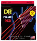 DR / NEON Hi-Def RED DR-NRE-9 エレキギター用カラーコーティング弦 09-42 ディーアール 【お取寄せ商品】 商品画像