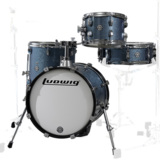 Ludwig / LC179X023 BREAKBEATS AZURE BLUE SPARKLE ラディック 4点シェルキット 商品画像