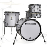 Ludwig / LC179X028 BREAKBEATS WHITE SPARKLE ラディック ブレイクビーツ 4点シェルキット 商品画像