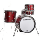 Ludwig / LC179X025 BREAKBEATS Wine Red Sparkle ラディック 4点シェルキット 商品画像
