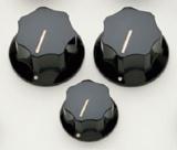 ALLPARTS / 5058 Black Knob Set for JB 【取寄品】 商品画像
