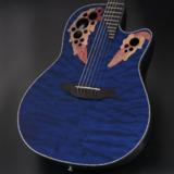 Ovation / Celebrity Elite Plus / CE44P-8TQ Blue Transparent Quilt 【正規輸入品】  商品画像