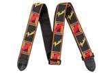 Fender / Monogram Strap Black/Yellow/Red  商品画像