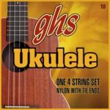 ghs / 10 STD CLEAR Standard Ukulele Clear Nylon 【お取寄せ商品】 商品画像