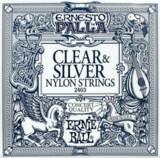 ERNiE BALL / Ernesto Palla Nylon Classical #2403 Clear & Silver 28-42 【お取寄せ商品】 商品画像