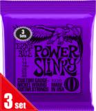 ERNiE BALL / 3220 POWER SLINKY PURPLE 3SET PACK エレキギター弦 アーニーボール 商品画像