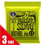 ERNiE BALL / #3221 REGULAR SLiNKY 10-46 3SET PACK エレキギター弦 商品画像