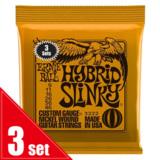 ERNiE BALL / 3222 HYBRID SLINKY ORANGE 3SET PACK エレキギター弦 商品画像