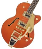 Gretsch / G5655TG Electromatic Center Block Jr. Single-Cut with Bigsby Orange Stain グレッチ 【お取り寄せ商品】 商品画像