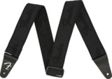 Fender / WeighLess 2 Inch Running Logo Strap Black/Black フェンダー 【ストラップ】 商品画像