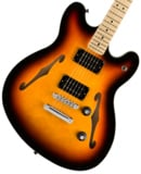 Squier by Fender / Affinity Series Starcaster Maple Fingerboard 3-Color Sunburst スクワイヤー 商品画像
