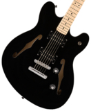 Squier by Fender / Affinity Series Starcaster Maple Fingerboard Black スクワイヤー 商品画像