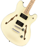 Squier by Fender / Affinity Series Starcaster Maple Fingerboard Olympic White スクワイヤー 商品画像
