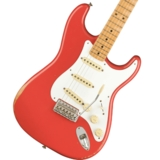 Fender / Vintera Road Worn 50s Stratocaster Maple Fingerboard Fiesta Red フェンダー 商品画像