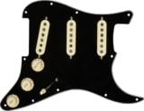 Fender / Pre-Wired Strat Pickguard Custom Shop Texas Special SSS Black 11 Hole PG 【フェンダーピックアップ付PG】 商品画像