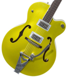 Gretsch / G6120T-HR Brian Setzer Signature Hot Rod Hollow Body with Bigsby Lime Gold グレッチ 商品画像