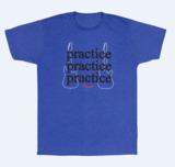 Fender / Practice T-Shirt, Heather Blue XL 商品画像