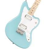 Squier by Fender / Mini Jazzmaster HH Maple Fingerboard Daphne Blue スクワイヤー 商品画像