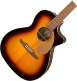 FENDER Acoustic / NEWPORTER PLAYER Sunburst (SB)【CALIFORNIA SERIES】 フェンダー アコースティックギター エレアコ アコギ 商品画像