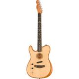Fender / AMERICAN ACOUSTASONIC TELECASTER Natural Left Hand【左利き】 《予約注文/入荷分より順次お届け》  商品画像