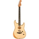 Fender / AMERICAN ACOUSTASONIC STRATOCASTER Natural【NAMM SHOW 2020新製品】 《予約注文/入荷分より順次お届け》  商品画像