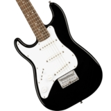 Squier by Fender / Mini Stratocaster Left-Handed Laurel Fingerboard Black スクワイヤー【左利き用モデル】 商品画像