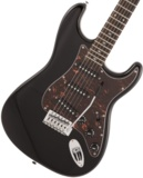 Squier by Fender / Affinity Stratocaster Laurel Fingerboard Black with Tortoiseshell Pickguard スクワイヤー 商品画像