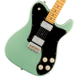Fender/ American Professional II Teleaster Deluxe Maple Fingerboard Mystic Surf Green フェンダー《予約注文/納期別途ご案内》 商品画像