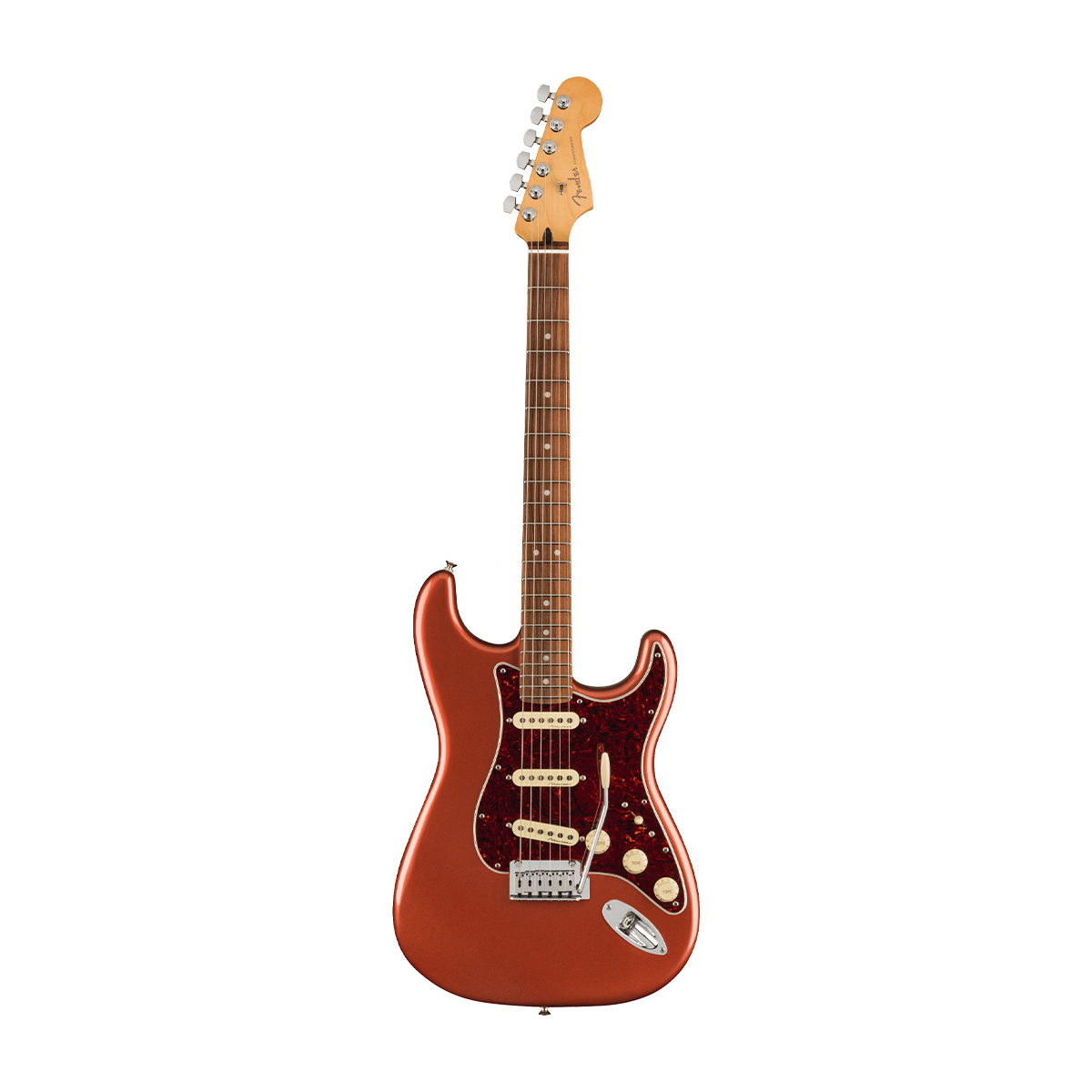 Fender / Player Plus Stratocaster Pau Ferro Fingerboard Aged Candy Apple Red