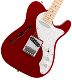 Fender / Deluxe Telecaster Thinline Maple Fingerboard Candy Apple Red フェンダー 商品画像