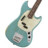 Fender / JMJ Road Worn Mustang Bass Daphne Blue Rosewood  商品画像