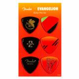 Fender / Evangelion ASUKA Pick Set 【エヴァンゲリオン アスカ ピックセット】 商品画像