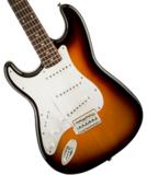 Squier / Affinity Series Stratocaster Left-Handed Laurel Fingerboard Brown Sunburst スクワイヤー 商品画像