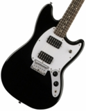 Squier by Fender / Bullet Mustang HH Black Indian Laurel スクワイヤ 商品画像