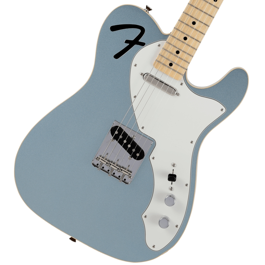 Fender / Made in Japan Limited F-Hole Telecaster Thinline Maple Fingerboard Mystic Ice Blue