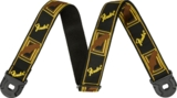 Fender / Quick Grip Locking End Strap Black Yellow and Brown 2 フェンダー ストラップ 商品画像