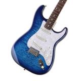 Fender / ISHIBASHI FSR Made in Japan Hybrid II Stratocaster Rosewood Transparent Blue Burst フェンダー 商品画像