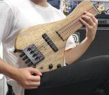 Wing Instruments / Classic 4String BlackLimba Morado コンパクトベース 【渋谷店】 商品画像