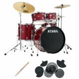TAMA / IE52KH6HC-CPM IMPERIALSTAR ドラムセット 22BD スタンダードサイズ サイレントパック 商品画像